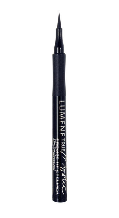 Lumene True Mystic Precise Tip Eyeliner Cosmetic 1,0ml 01 Mystic Black
