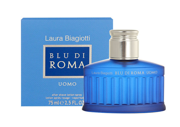Laura Biagiotti Blu di Roma Uomo Aftershave 75ml