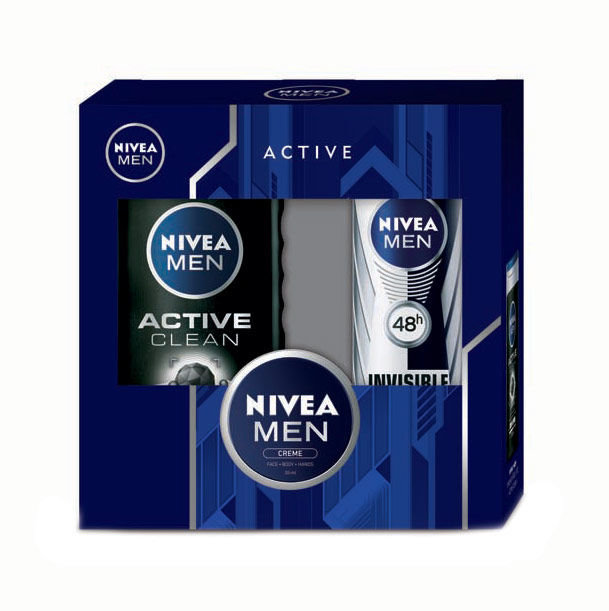 Nivea Men Active Clean Cosmetic 250ml