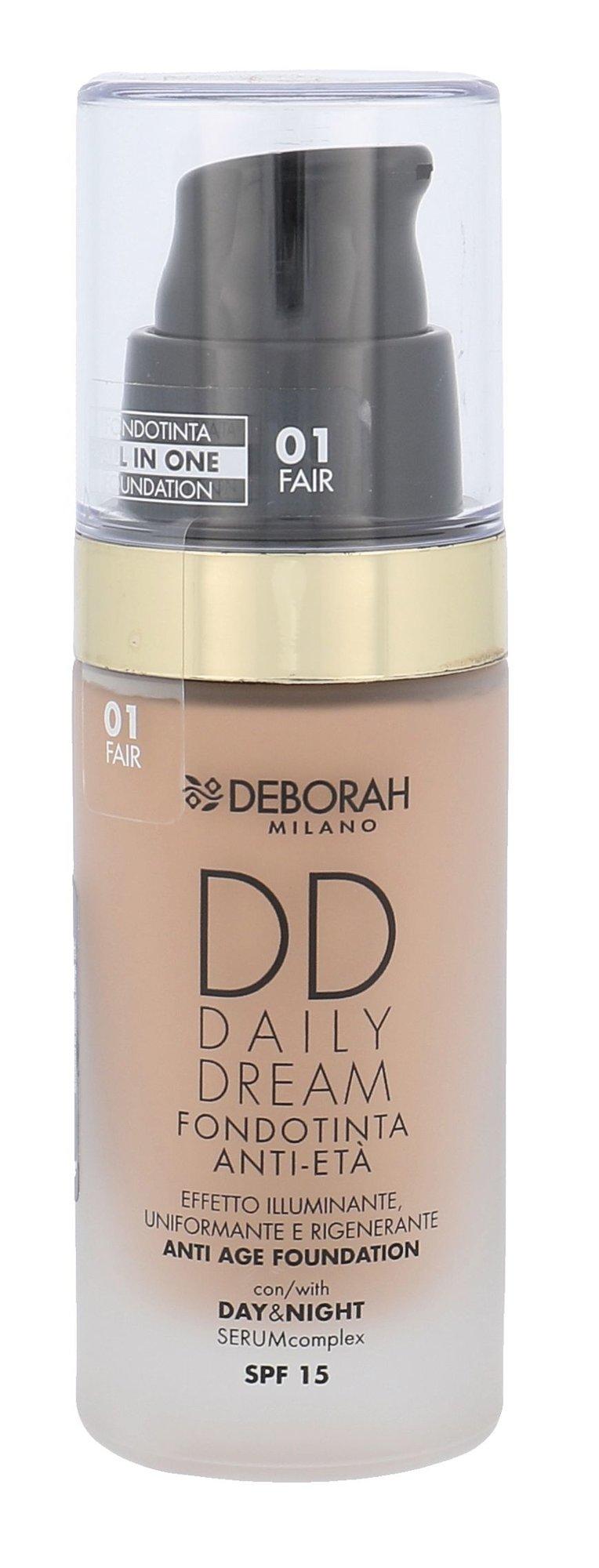 Deborah Milano DD Daily Dream Cosmetic 30ml 01 Fair