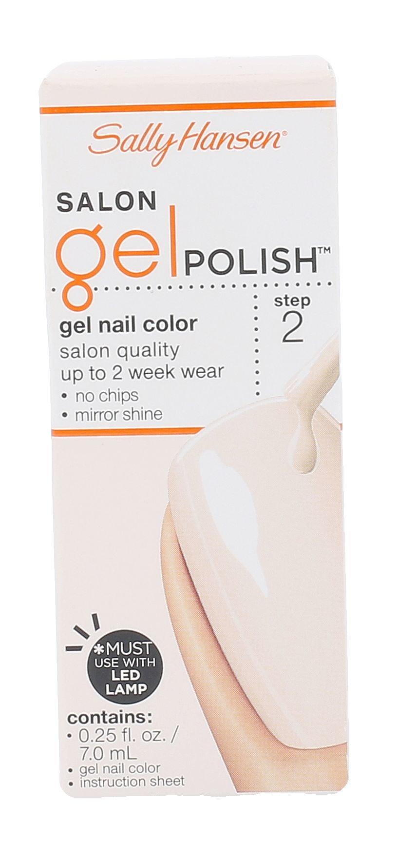 Sally Hansen Salon Gel Polish Cosmetic 7ml 120 Sheer Ecstasy