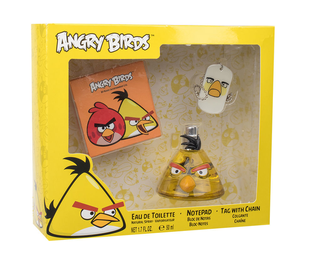 Angry Birds Angry Birds Yellow Bird EDT 50ml