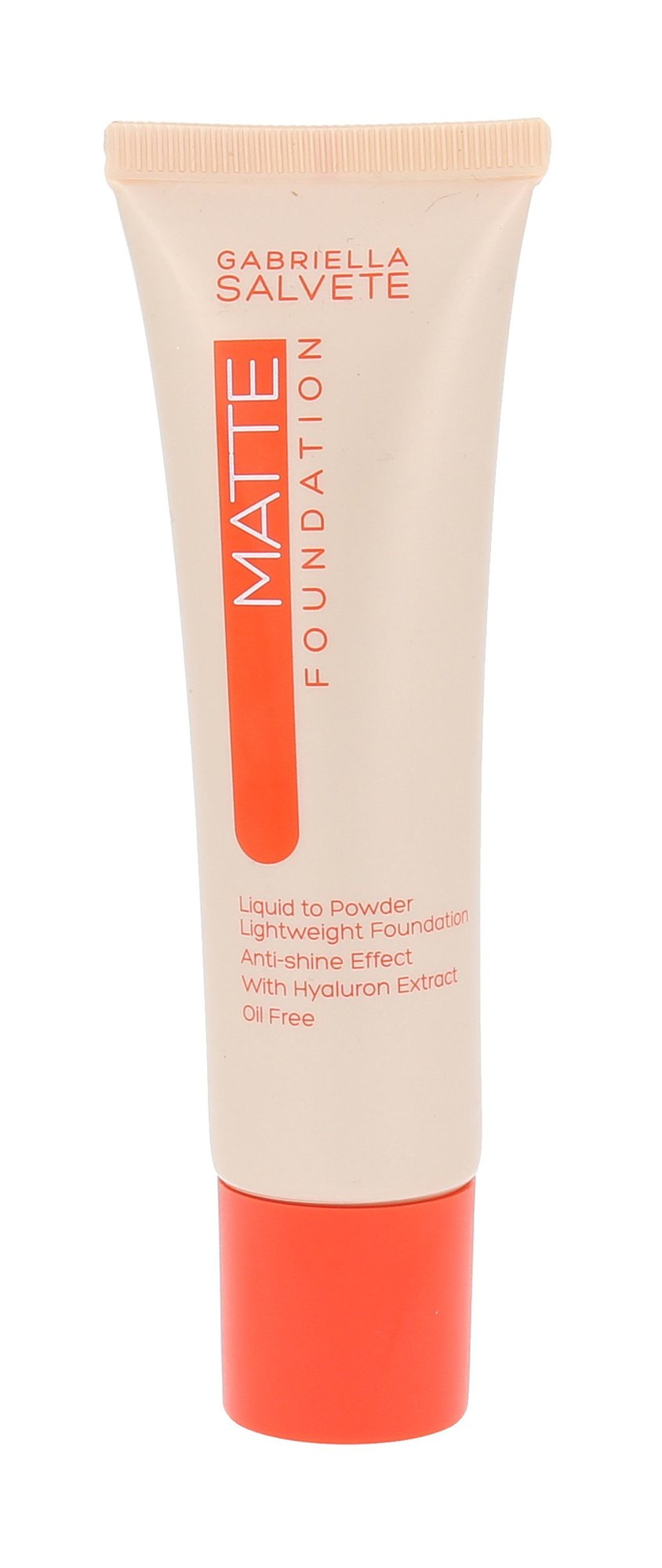 Gabriella Salvete Matte Foundation Cosmetic 30ml 104 Light Sand