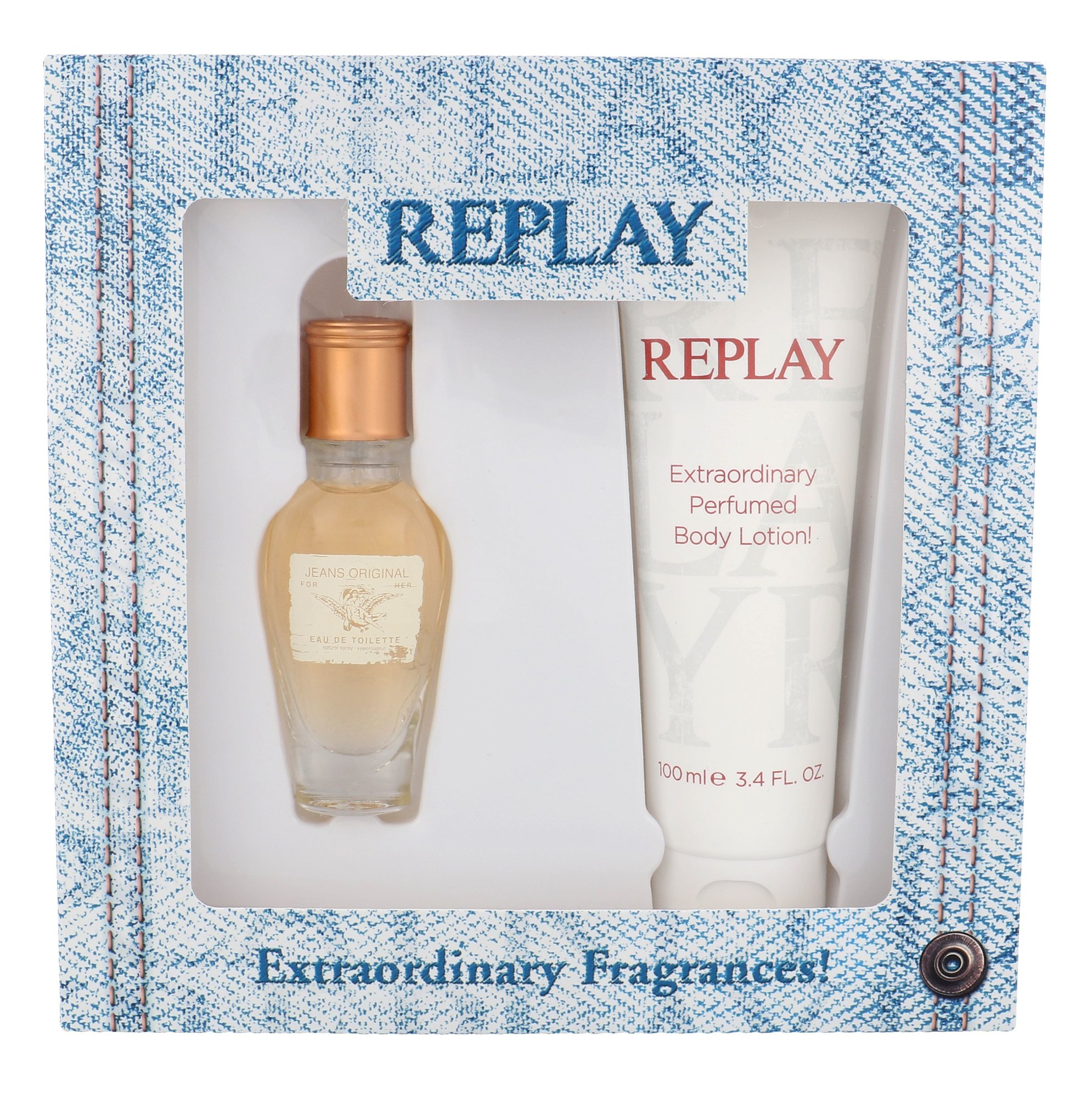 Replay Jeans Original! For Her EDT 20ml