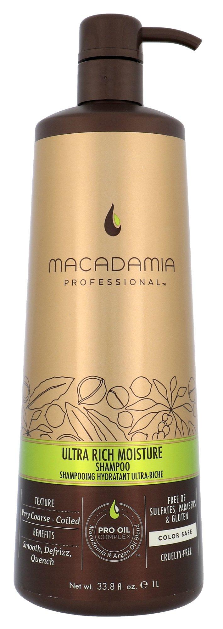 Macadamia Ultra Rich Moisture Shampoo Cosmetic 1000ml
