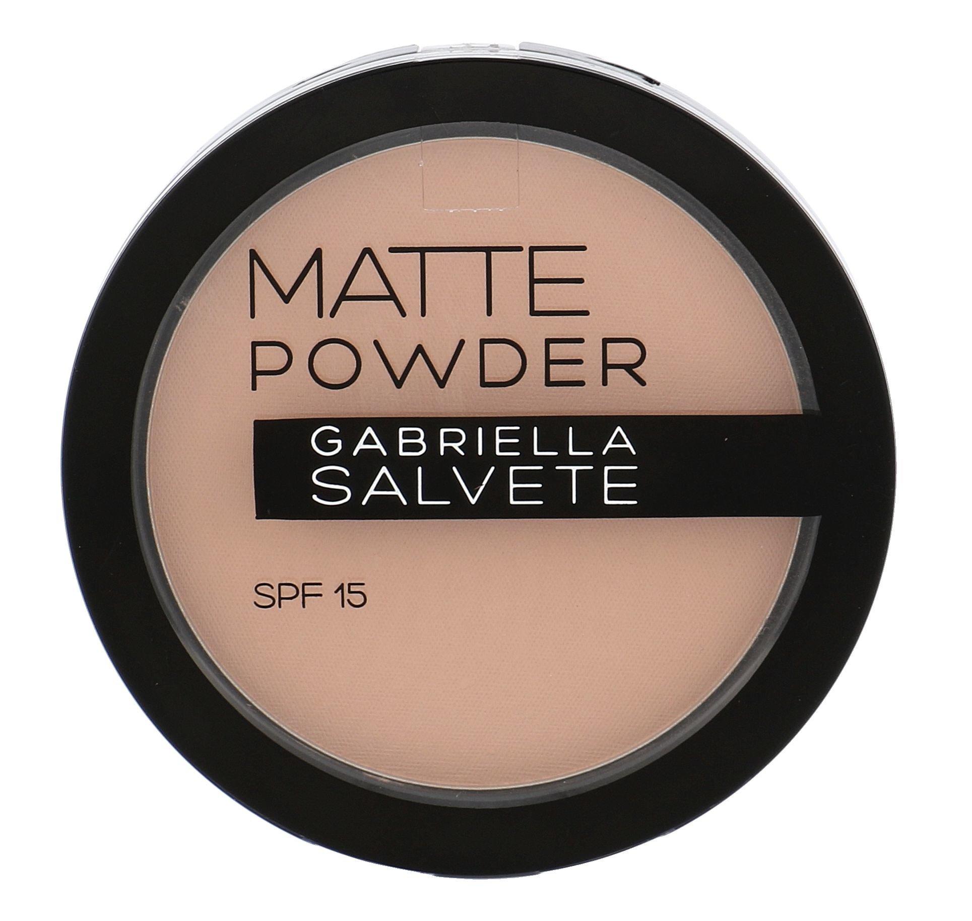 Gabriella Salvete Matte Powder SPF15 Cosmetic 8g 01