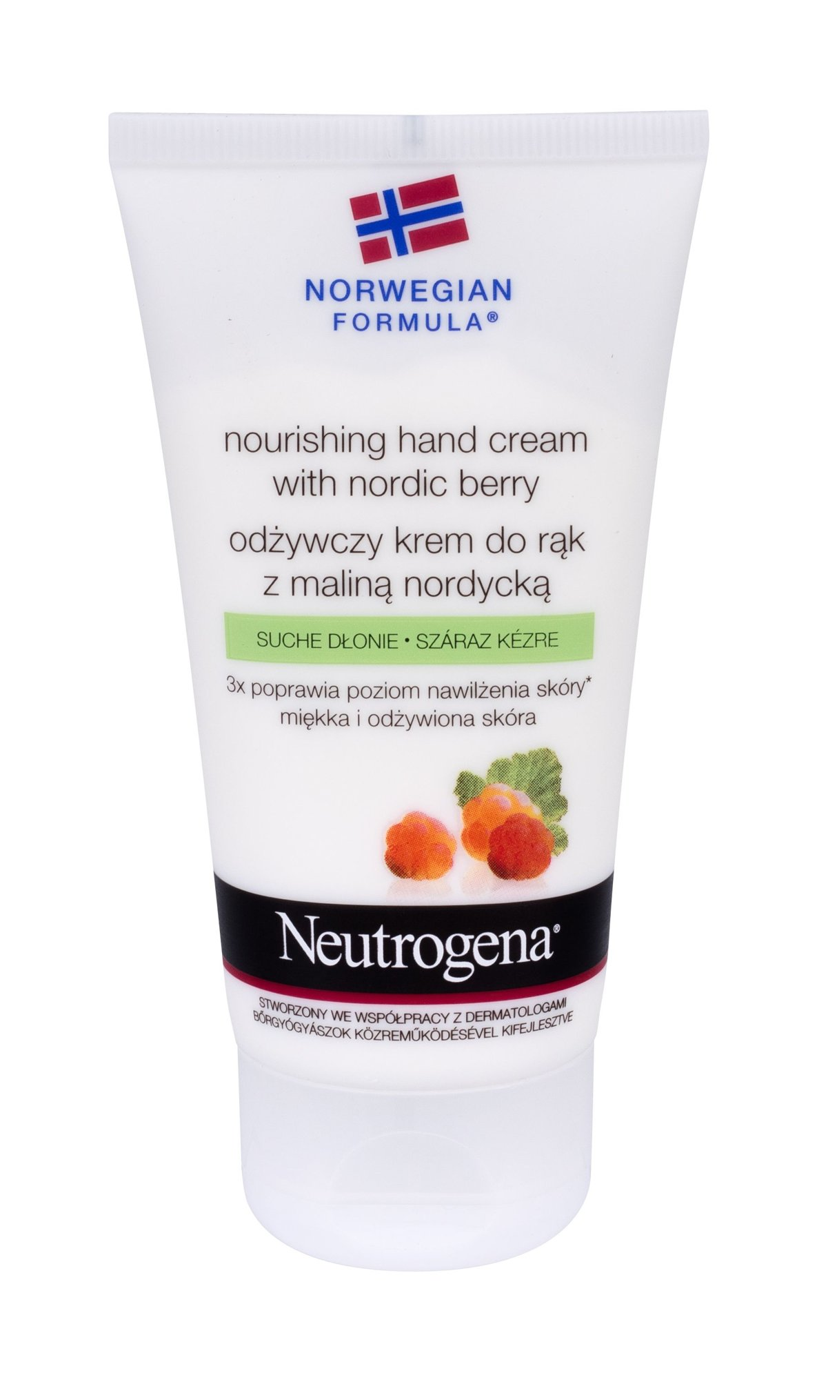 Neutrogena Nourishing Hand Cream With Nordic Berry Cosmetic 75ml