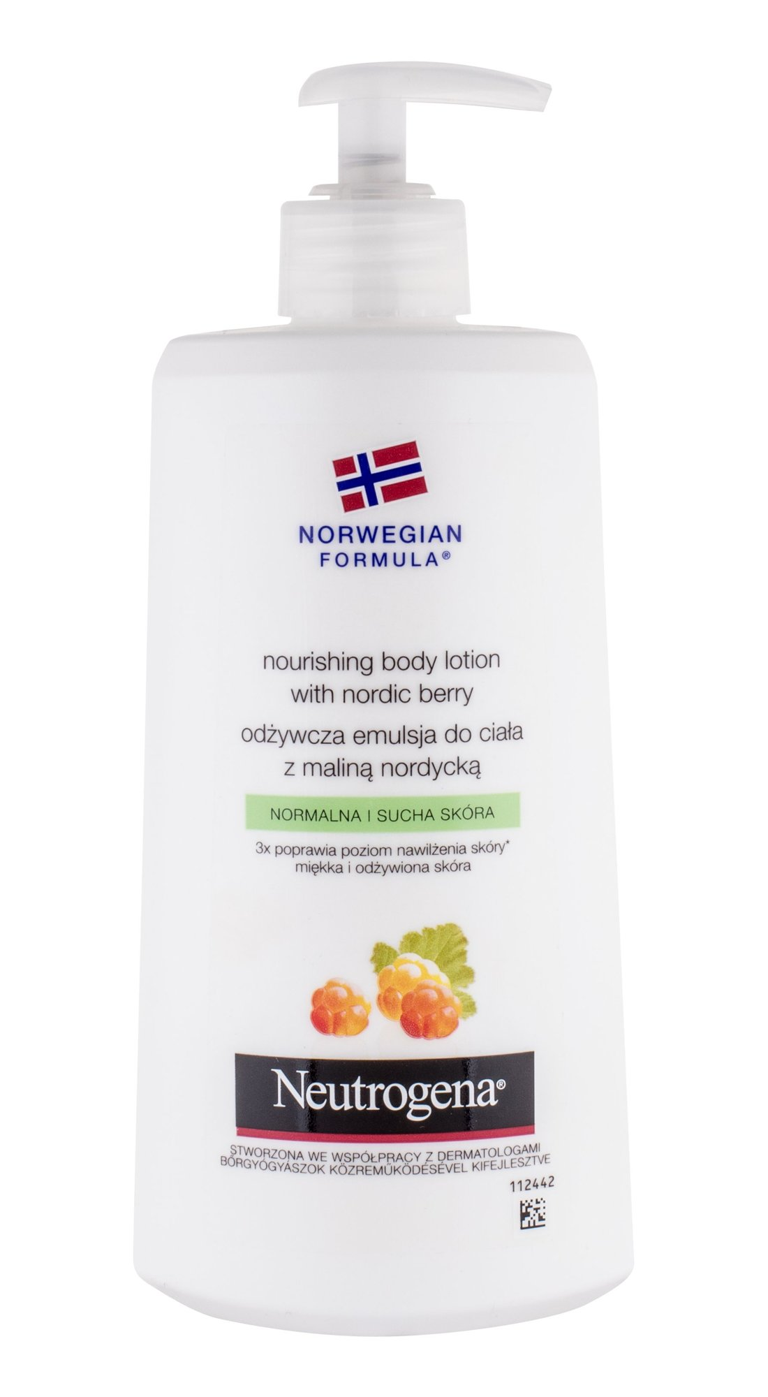 Neutrogena Nourishing Body Lotion With Nordic Berry Cosmetic 400ml