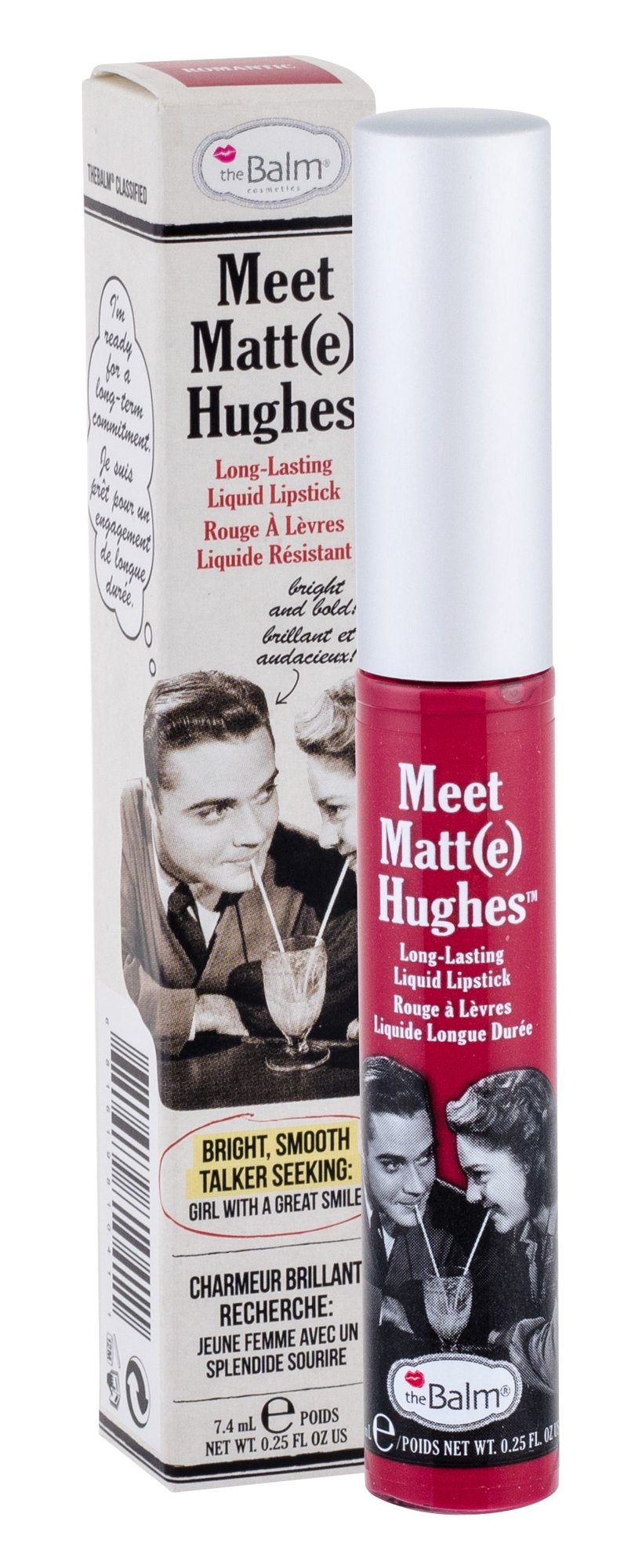TheBalm Meet Matt(e) Hughes Cosmetic 7,4ml Romantic