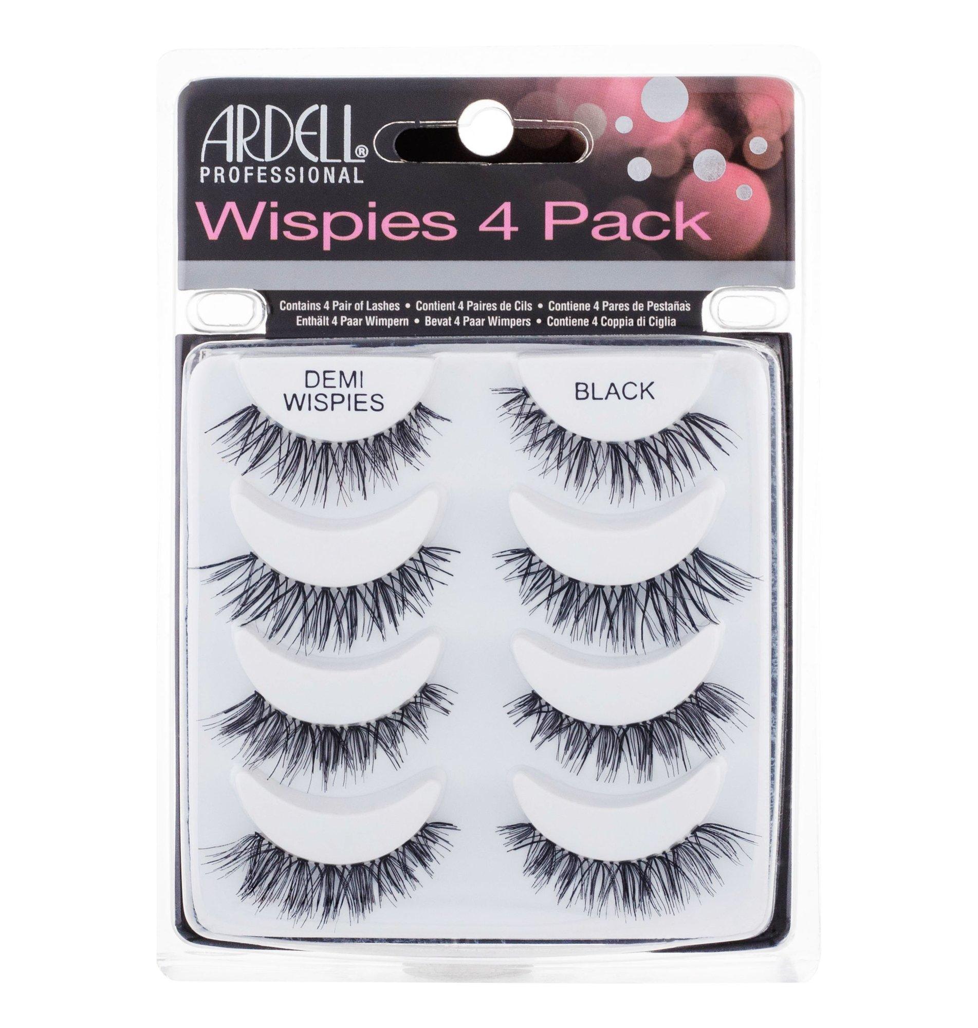 Ardell Wispies False Eyelashes 4ml Black