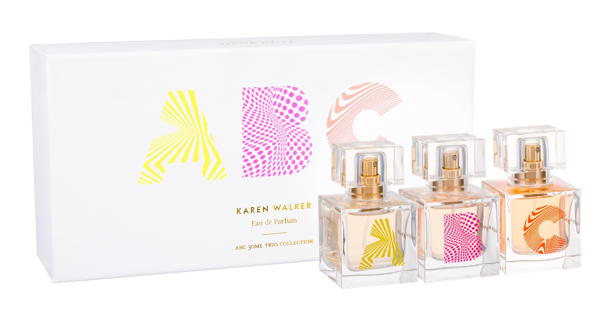Karen Walker ABC Trio Set Eau de Parfum 3x30ml