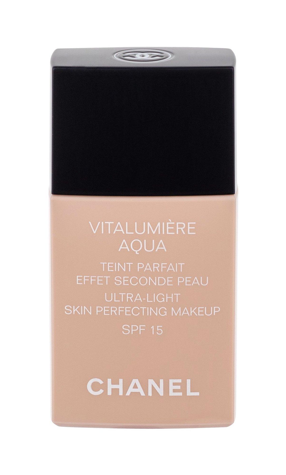 Chanel Vitalumiere Aqua Makeup 30ml 12 Beige Rosé SPF15