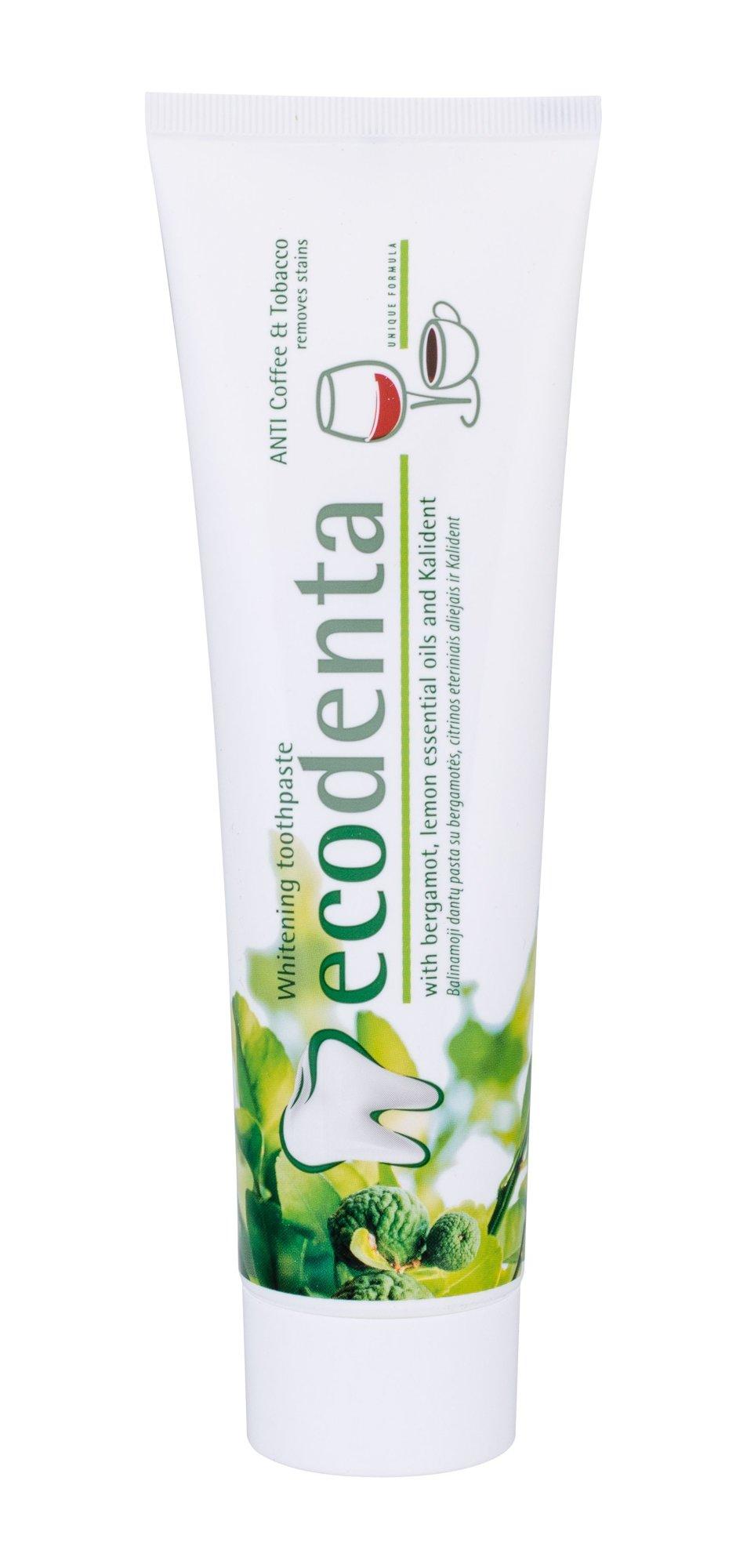 Ecodenta Toothpaste Toothpaste 100ml  Whitening ANTI Coffee & Tobacco