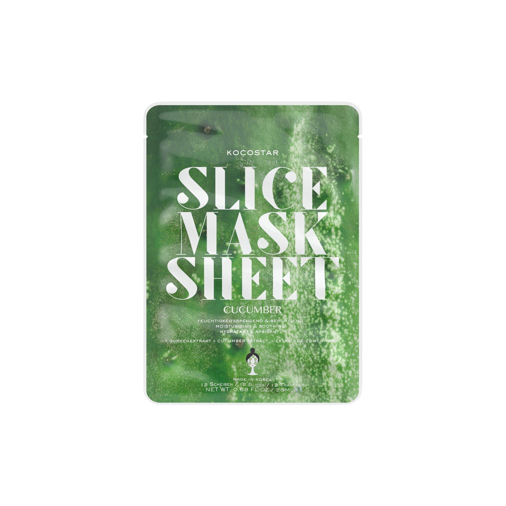Kocostar Slice Mask Face Mask 20ml  Cucumber