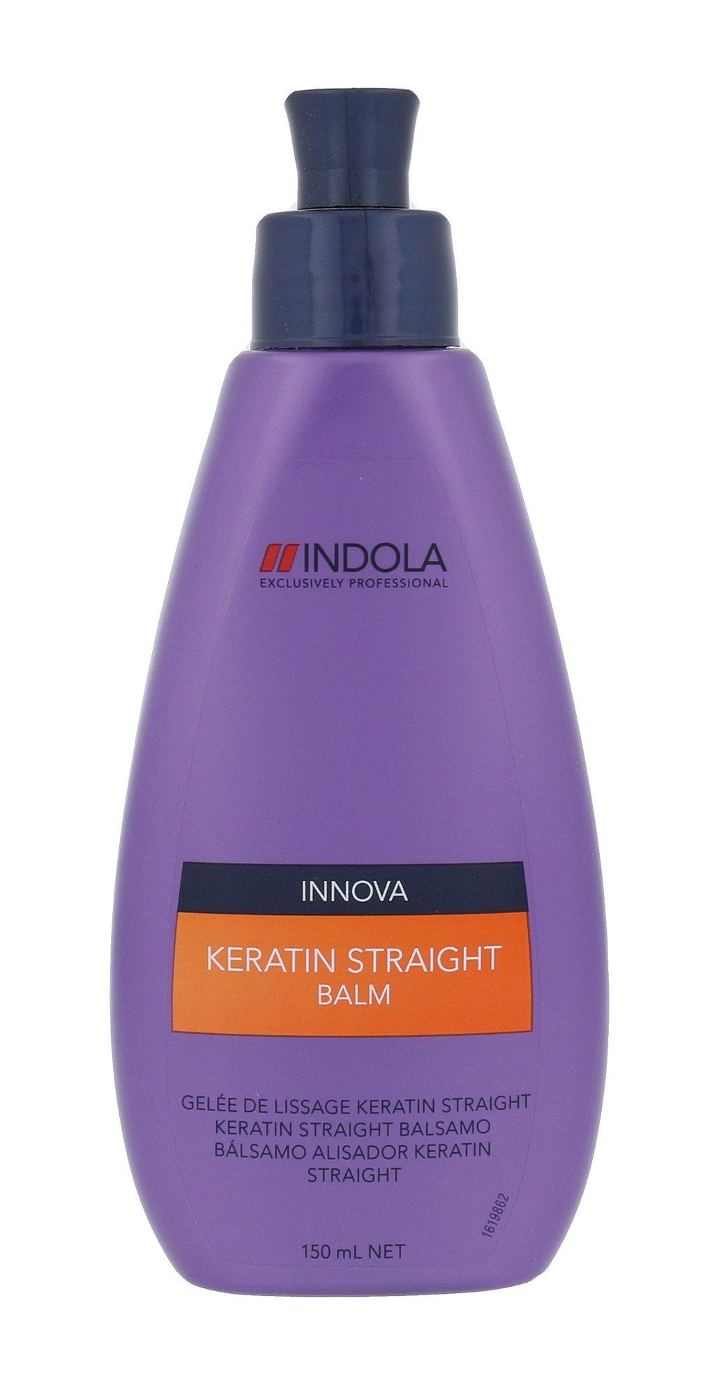 Indola Innova Keratin Straight Balm Cosmetic 150ml