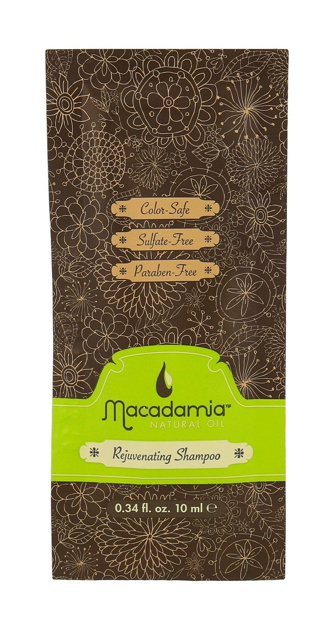 Macadamia Rejuvenating Shampoo Dry Hair Cosmetic 10ml