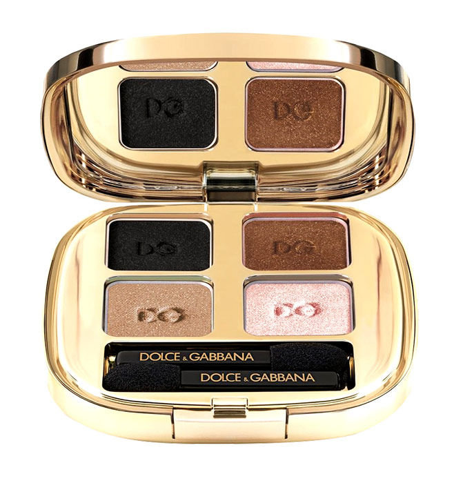 Dolce&Gabbana The Eyeshadow Cosmetic 4,8ml 123 Desert Smooth Eye Colour Quad