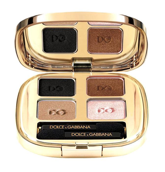 Dolce & Gabbana The Eyeshadow Quad Cosmetic 4,8g 123 Desert