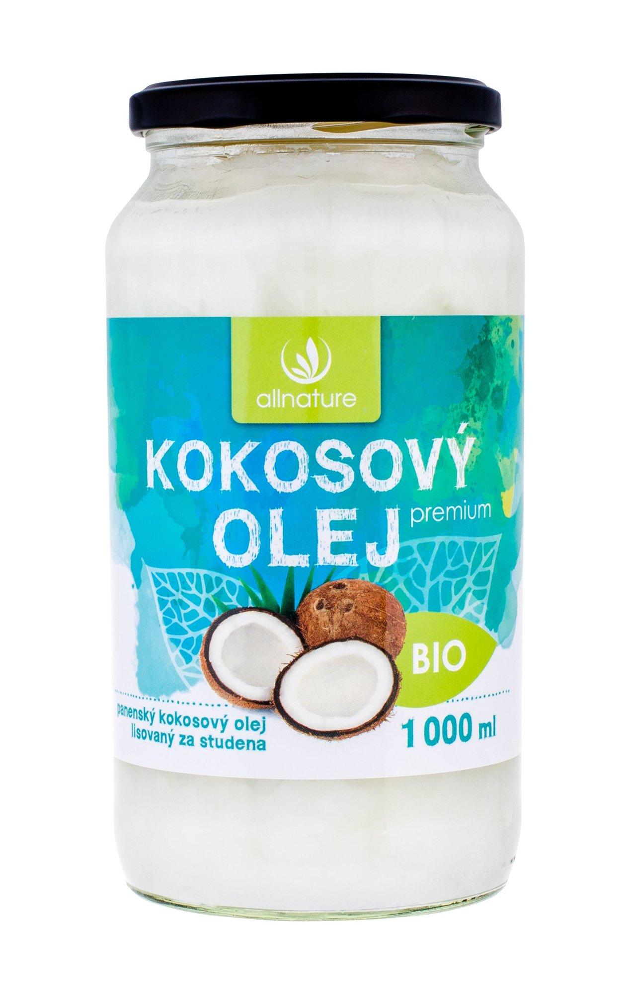 Allnature Premium Bio Coconut Oil Cosmetic 1000ml