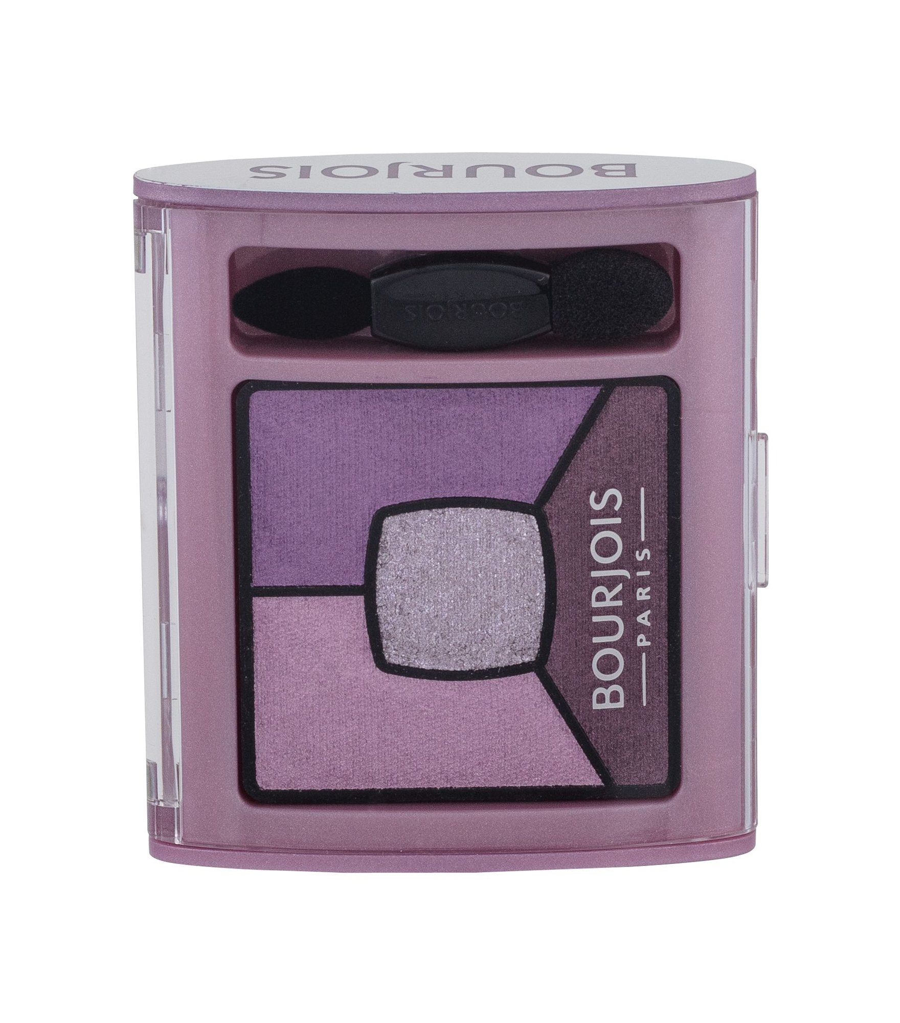 Akių šešėlis BOURJOIS Paris Smoky Stories Quad Eyeshadow Palette