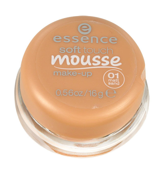 Essence Soft Touch Cosmetic 16ml 01 Matt Sand Mousse