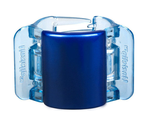 Linziclip Midi Hair Clip Cosmetic 1ks Blue Pearl Translucent