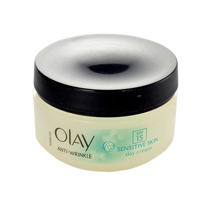 Olay Anti-Wrinkle Sensitive Skin Day Cream SPF15 Cosmetic 50ml