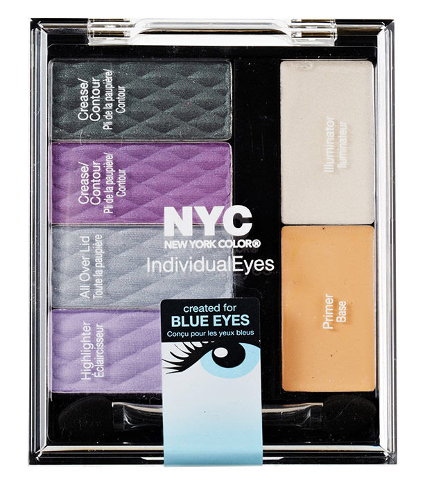 NYC New York Color Individual Eyes Cosmetic 9,3ml 942 Smokey Blues Custom Palette