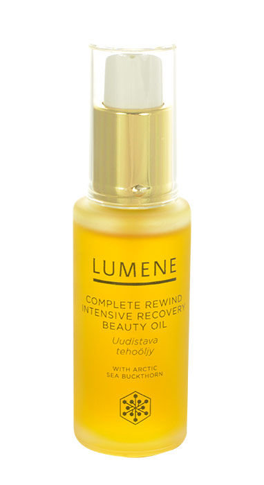 Lumene Complete Rewind Cosmetic 30ml  Intensive Recovery Beauty Oil