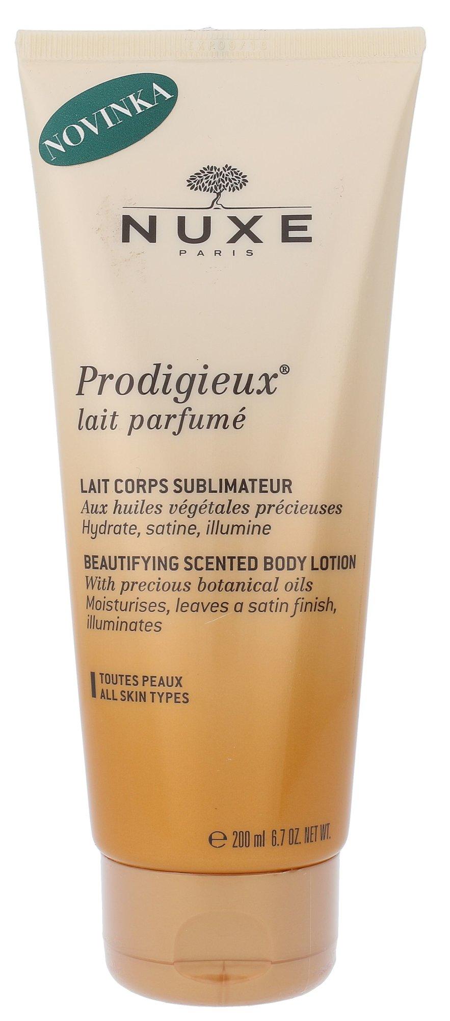 Nuxe Prodigieux Beautifying Scented Body Lotion Cosmetic 200ml