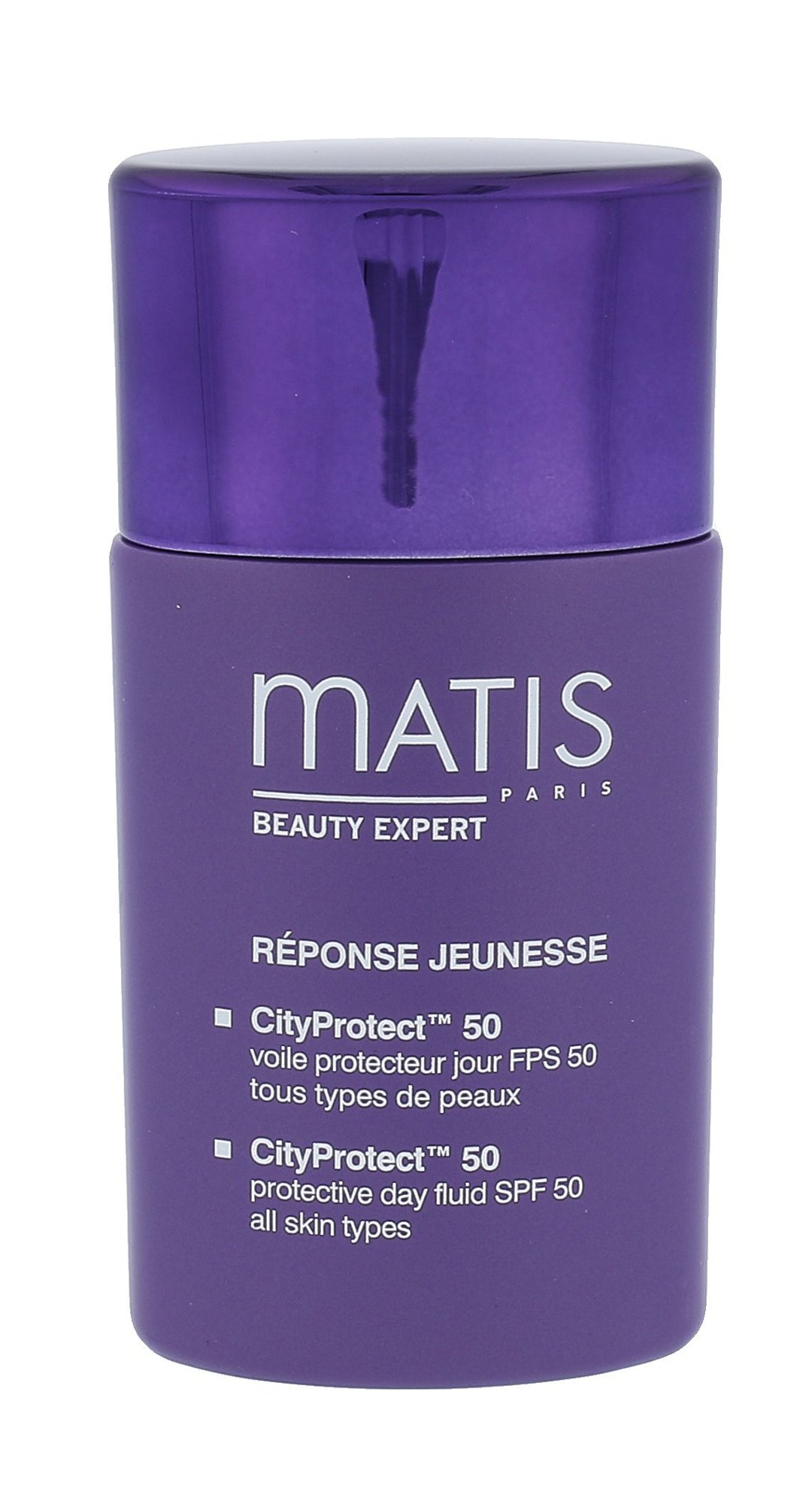 Matis Réponse Jeunesse Cosmetic 30ml  CityProtect 50 Day Fluid SPF50