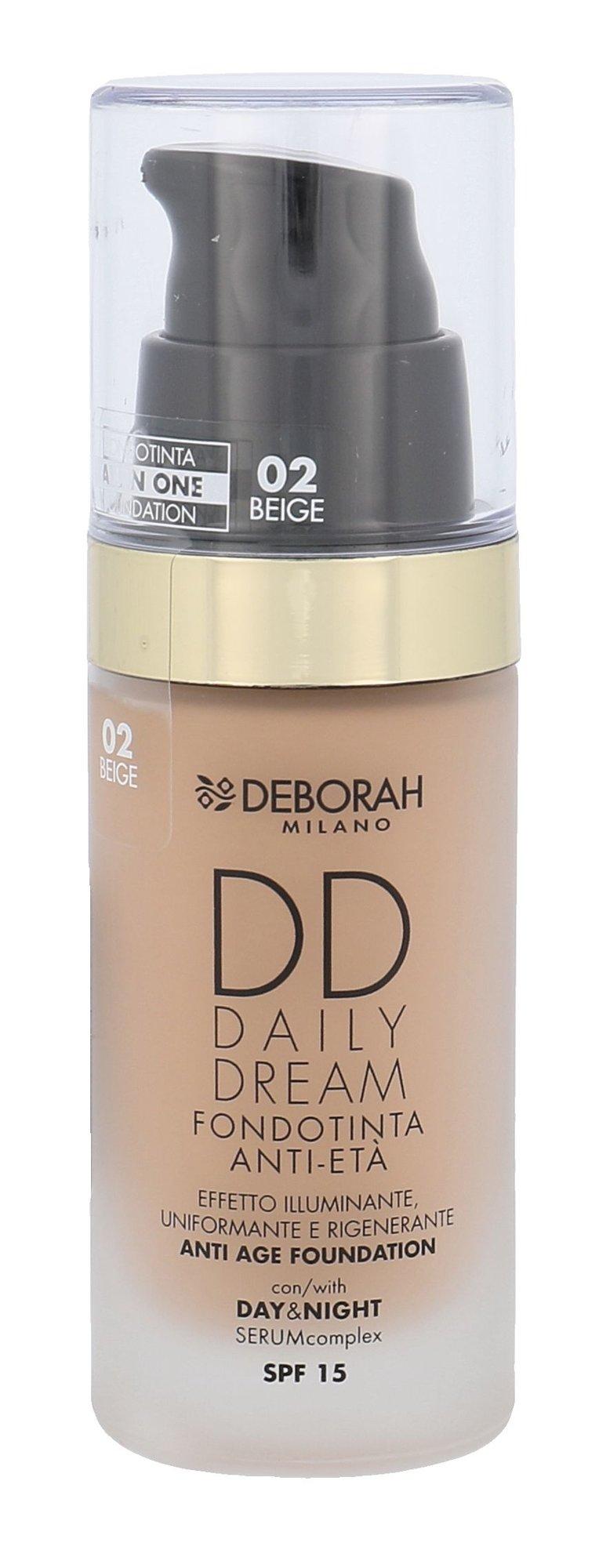 Deborah Milano DD Daily Dream Cosmetic 30ml 02 Beige