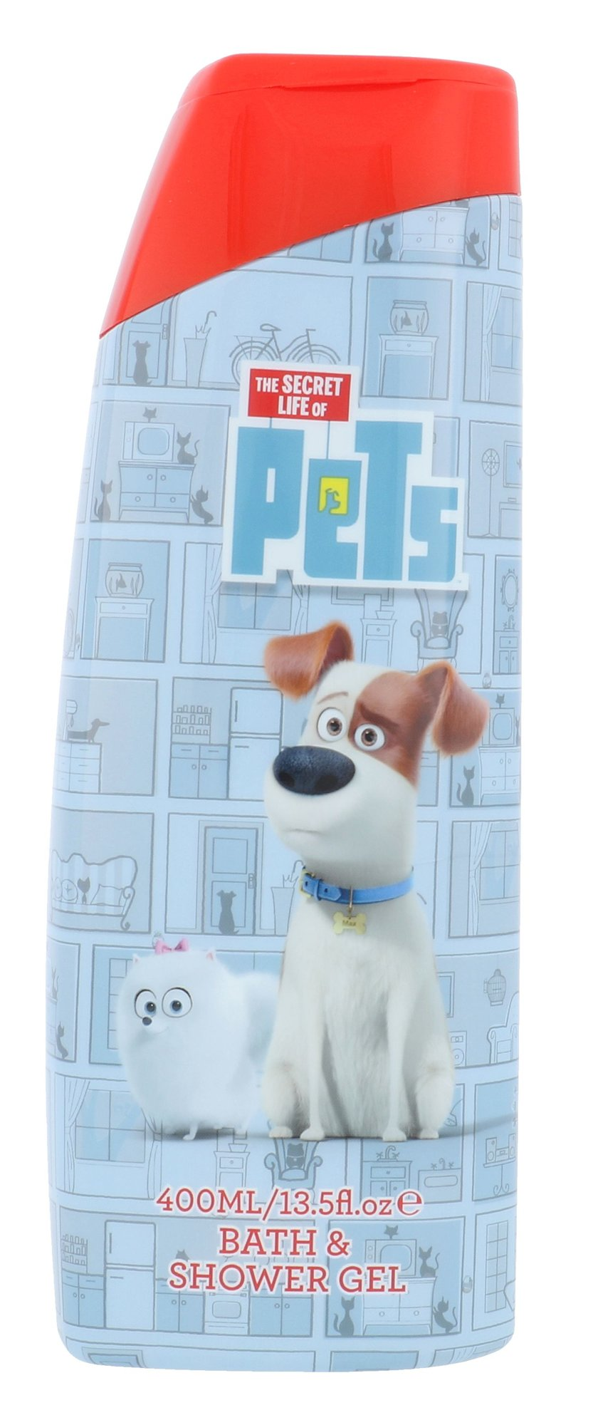 Universal The Secret Life Of Pets Bath & Shower Gel Cosmetic 400ml