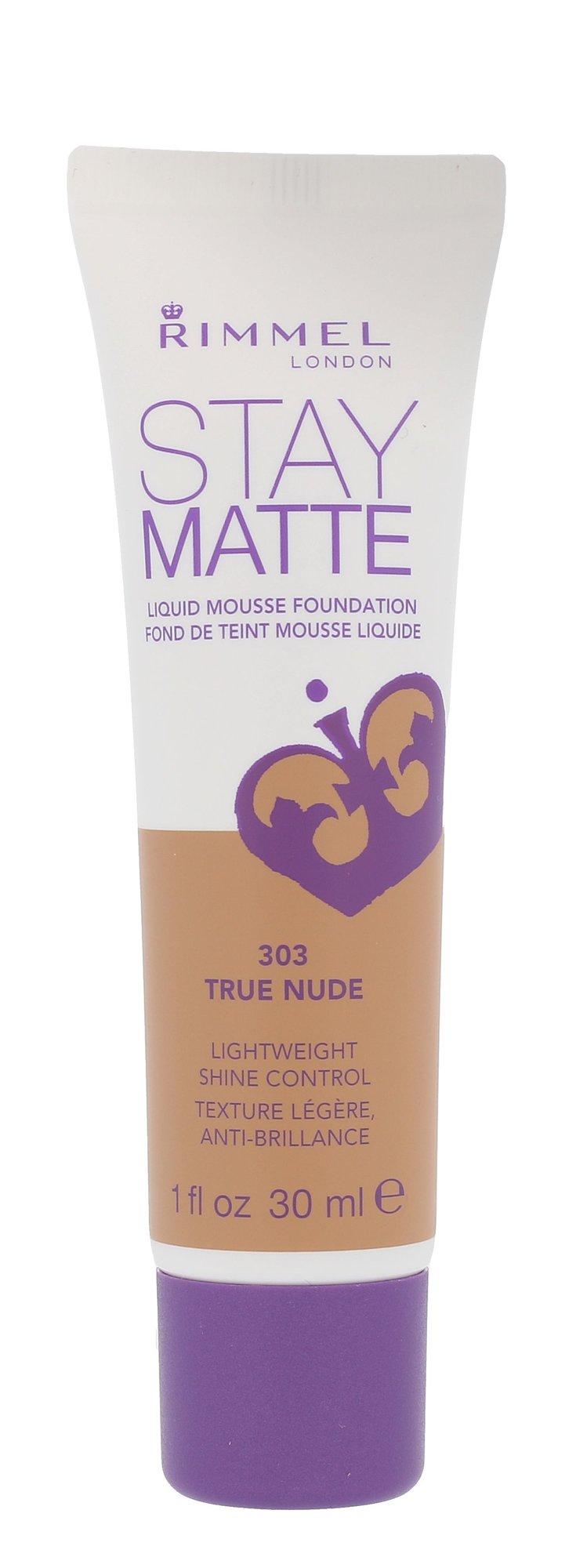 Rimmel London Stay Matte Cosmetic 30ml 303 True Nude