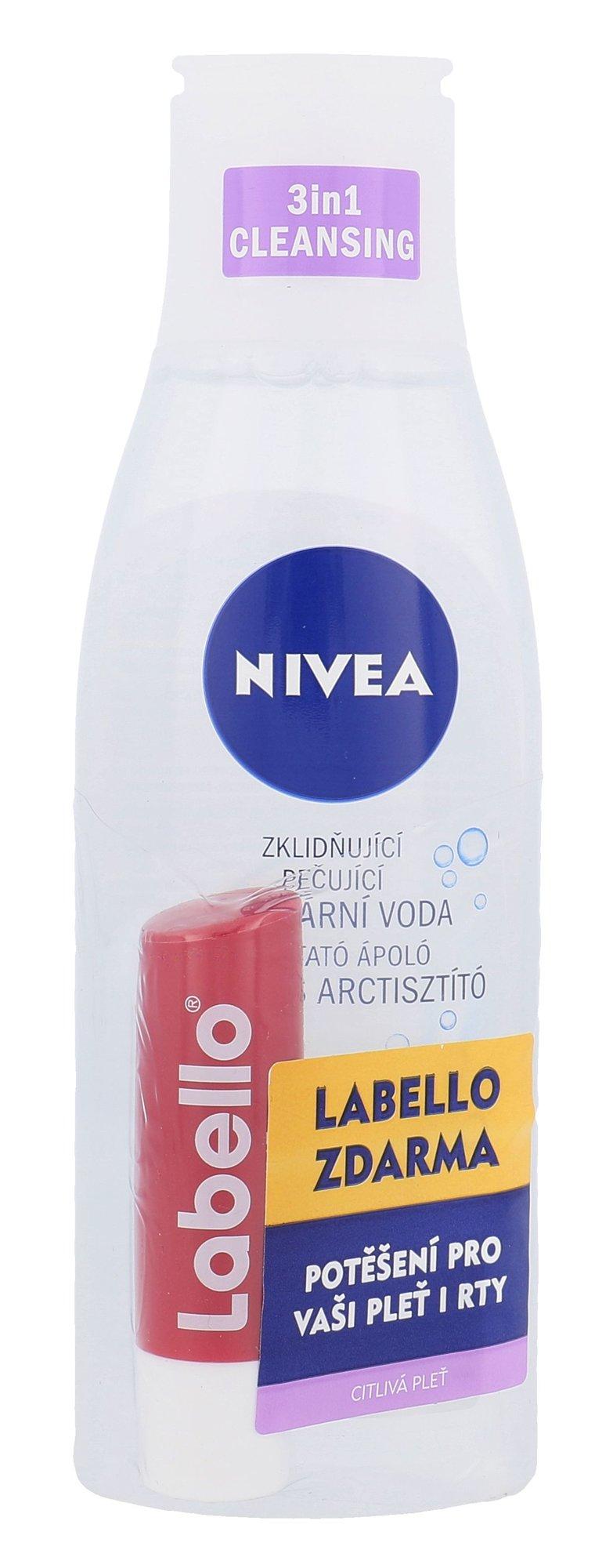 Nivea Sensitive 3in1 Micellar Cleansing Water Cosmetic 200ml