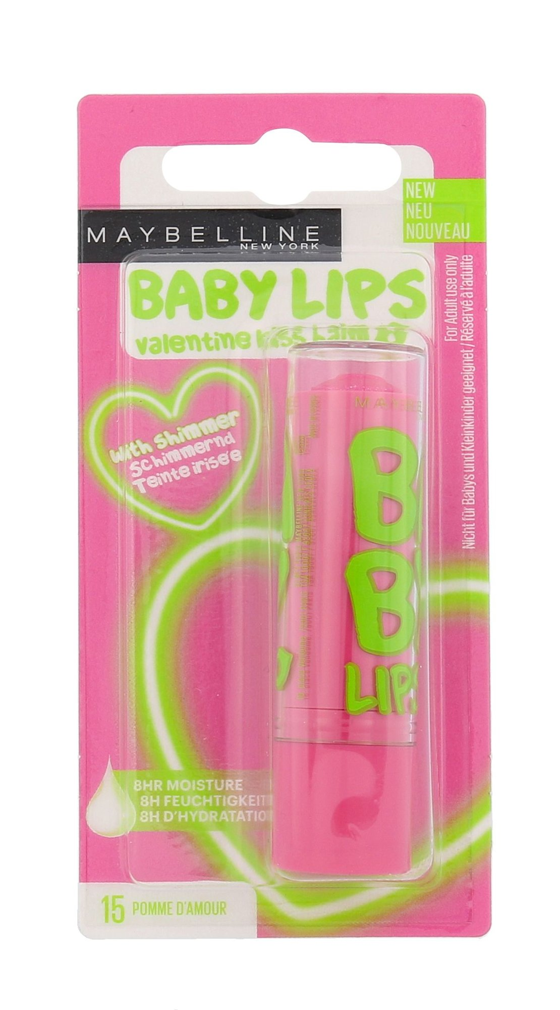 Maybelline Baby Lips Cosmetic 4,4ml 15 Pomme D´Amour