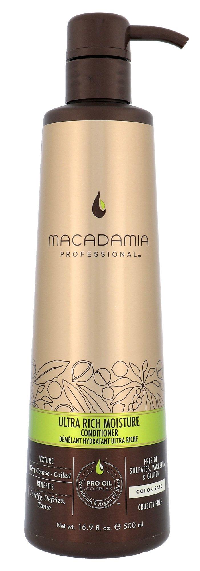 Macadamia Ultra Rich Moisture Conditioner Cosmetic 500ml