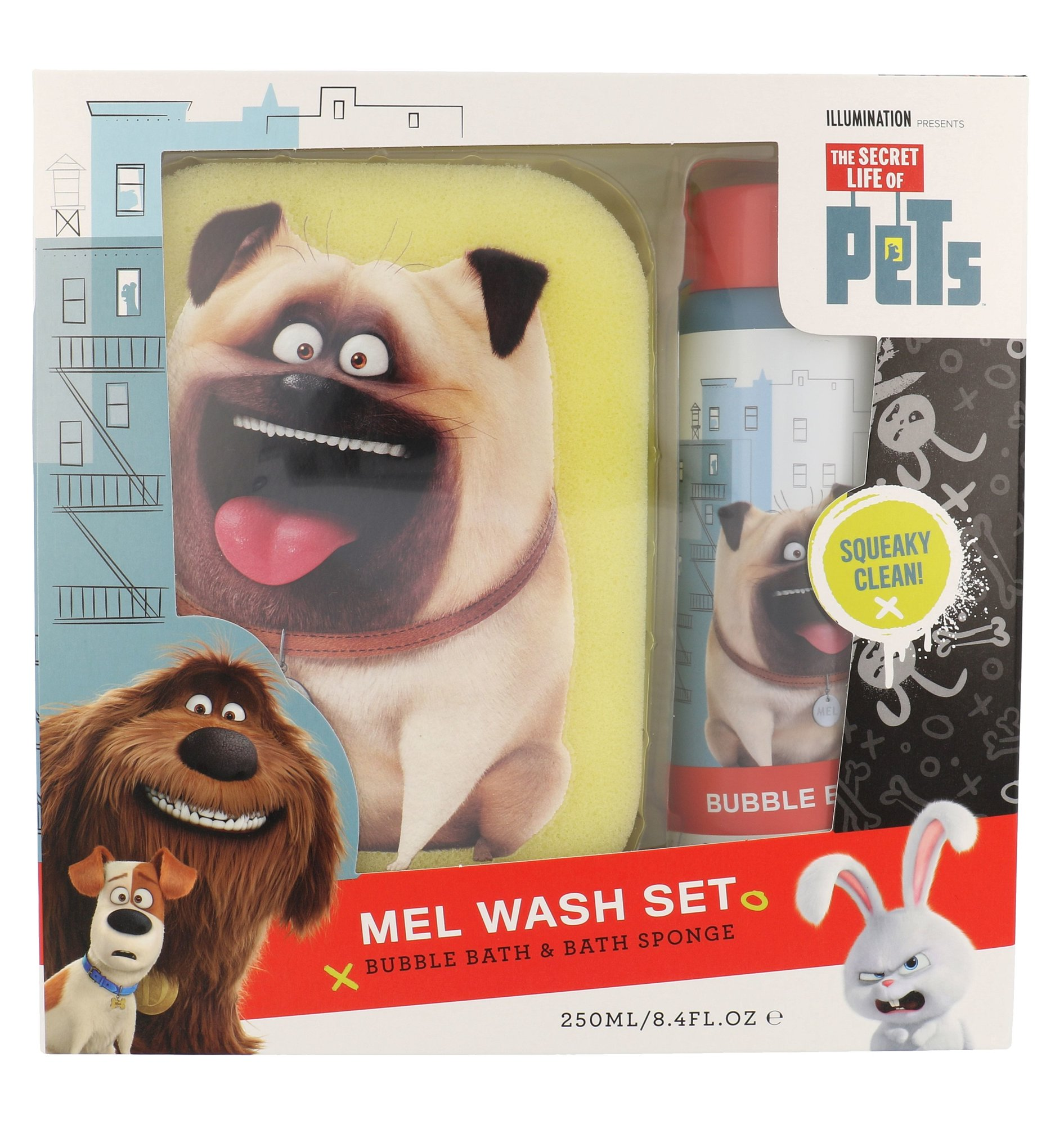 Universal The Secret Life Of Pets Mel Wash Kit Cosmetic 250ml