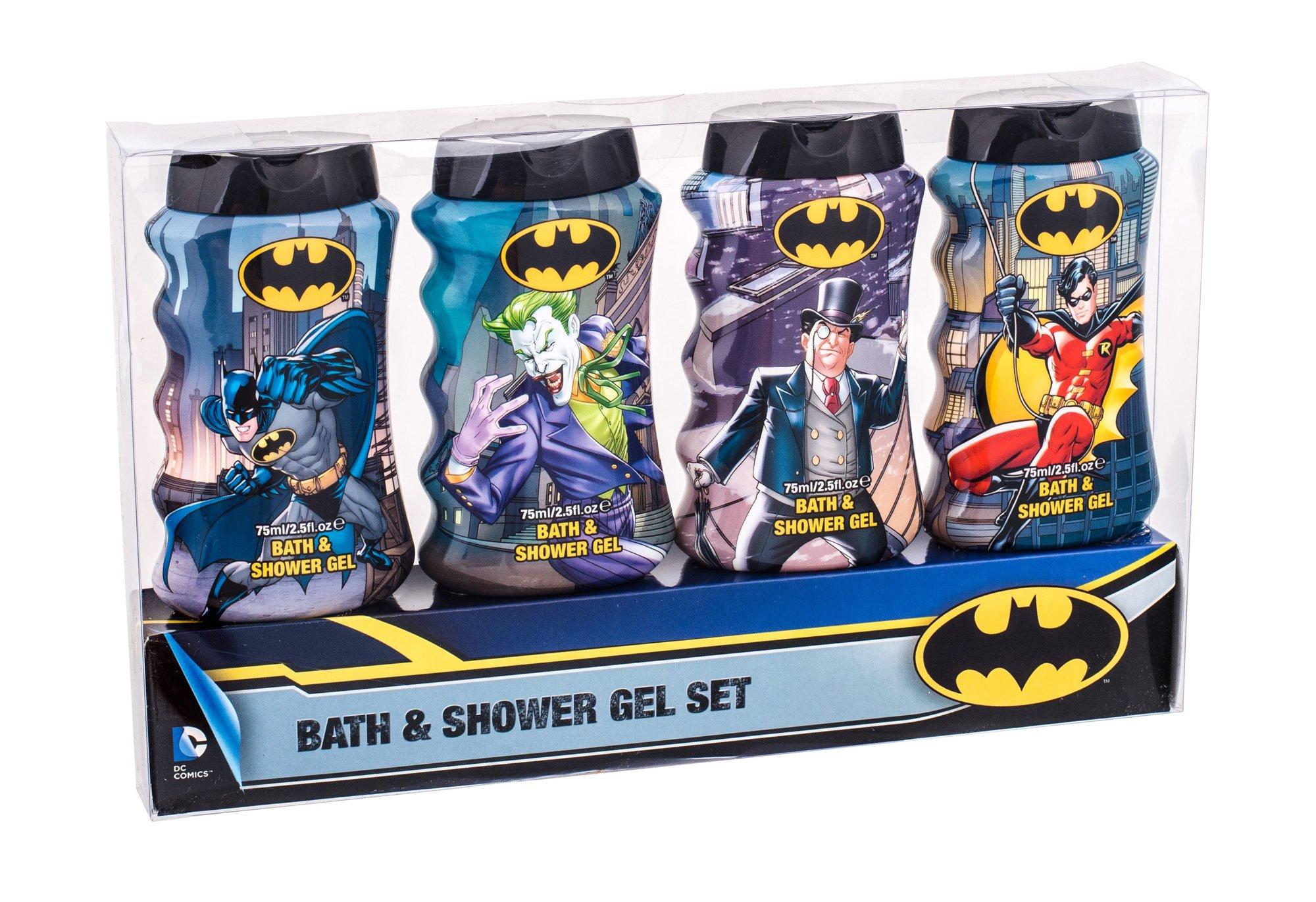 DC Comics Batman Shower gel 4x75ml