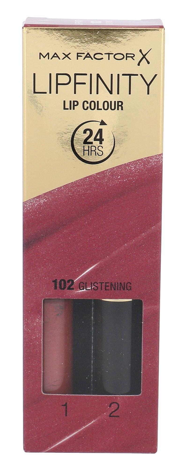 Max Factor Lipfinity Cosmetic 4,2ml 102 Glistening