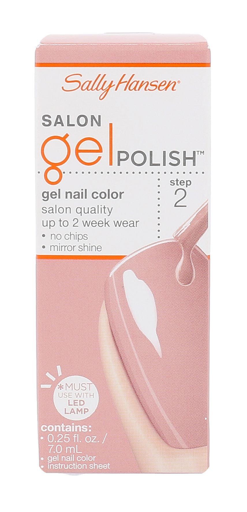 Sally Hansen Salon Gel Polish Cosmetic 7ml 150 Pink Pong