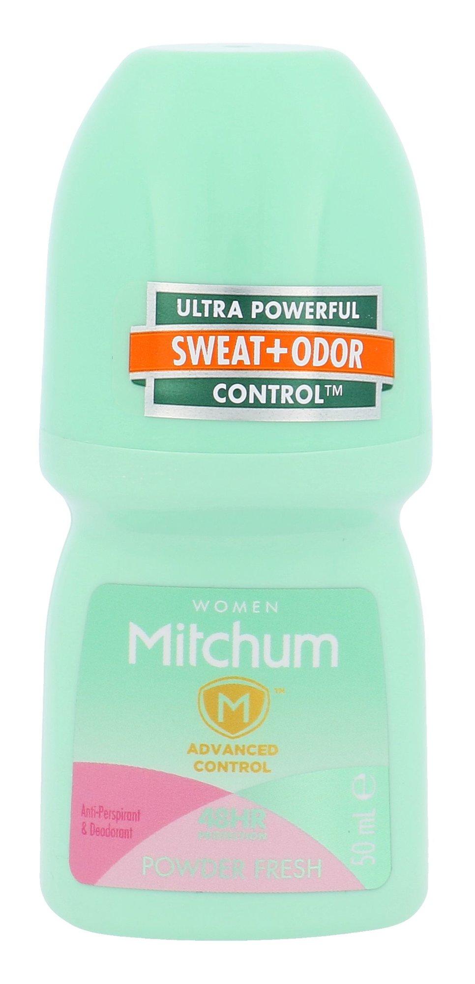 Mitchum Powder Fresh Anti-Perspirant Deo Roll-on 48HR Cosmetic 50ml