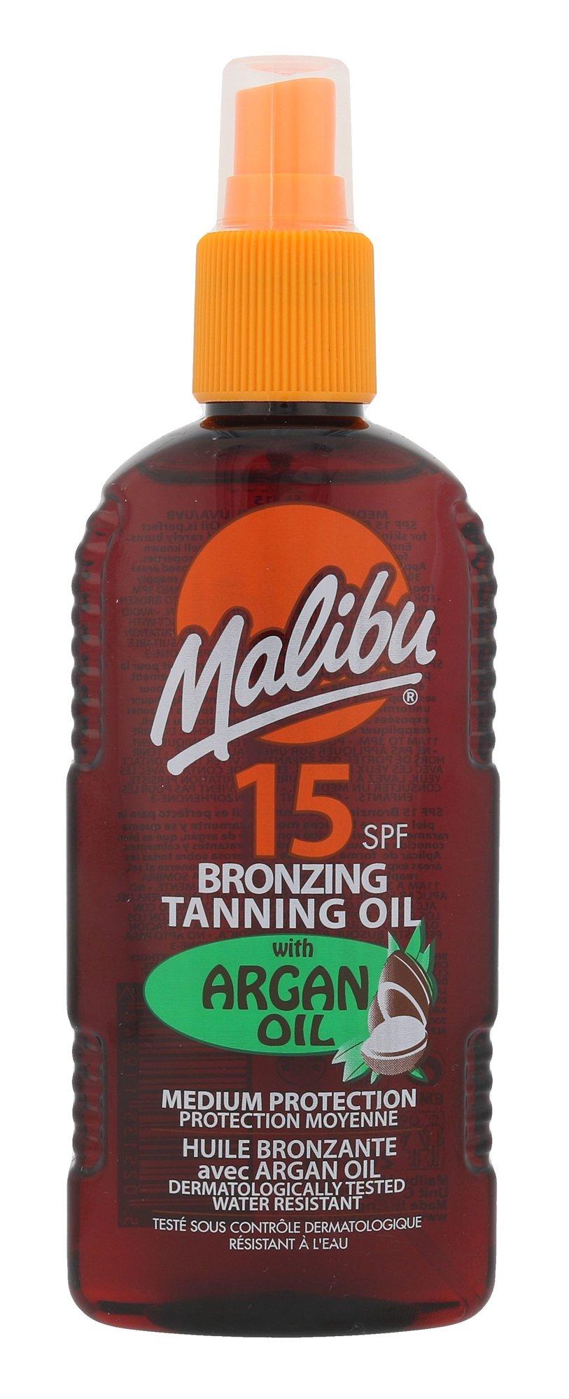 Malibu Bronzing Tanning Oil Cosmetic 200ml