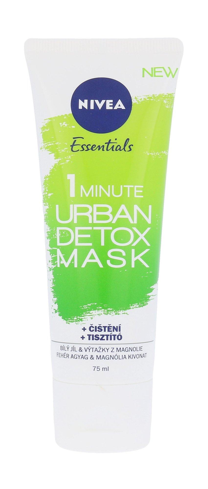 Nivea Essentials 1 Minute Urban Detox Mask Cosmetic 75ml