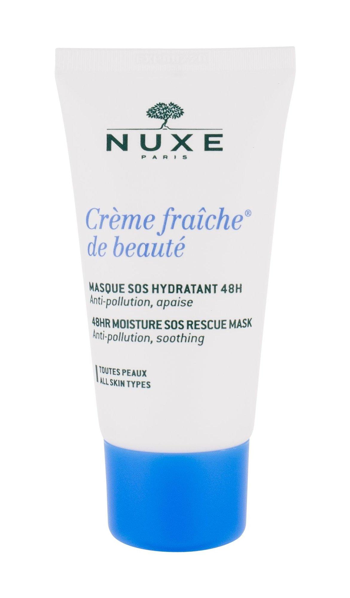 Nuxe Creme Fraiche 48HR Moisture SOS Rescue Mask Cosmetic 50ml