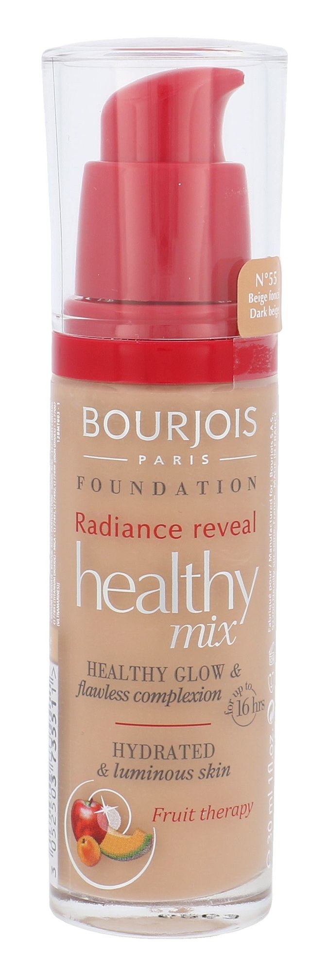BOURJOIS Paris Healthy Mix Cosmetic 30ml 55 Dark Beige
