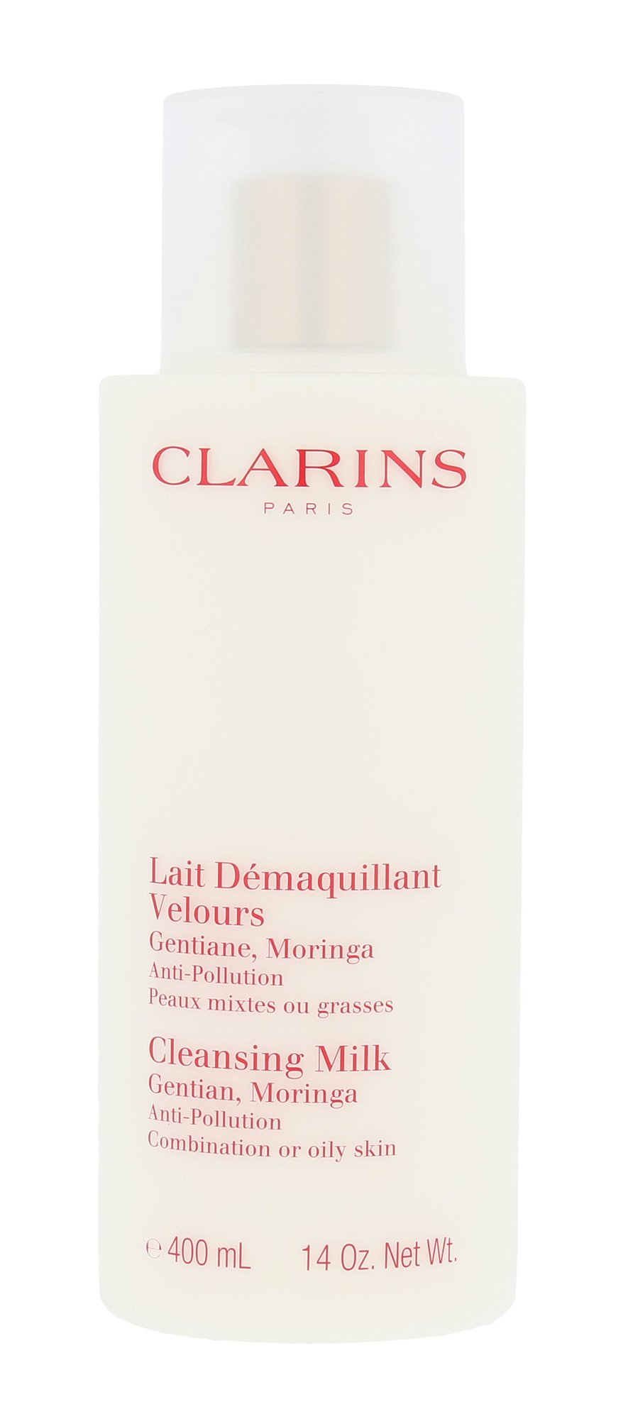 Clarins Cleansing Milk With Gentian Cosmetic 400ml