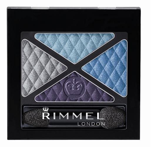 Rimmel London Glam Eyes Quad Eye Shadow Cosmetic 4,2g 002 Smoke Brun
