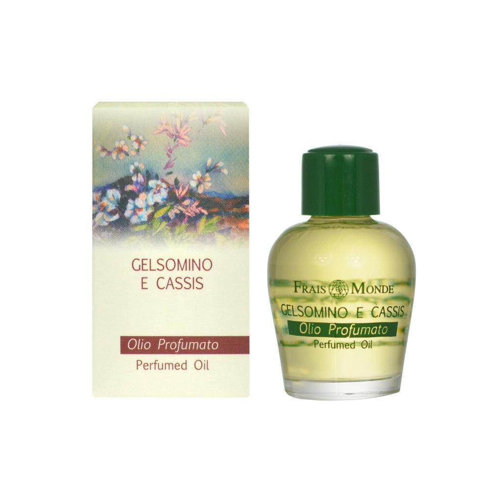 Frais Monde Jasmine And Blackcurrant Perfumed oil 12ml