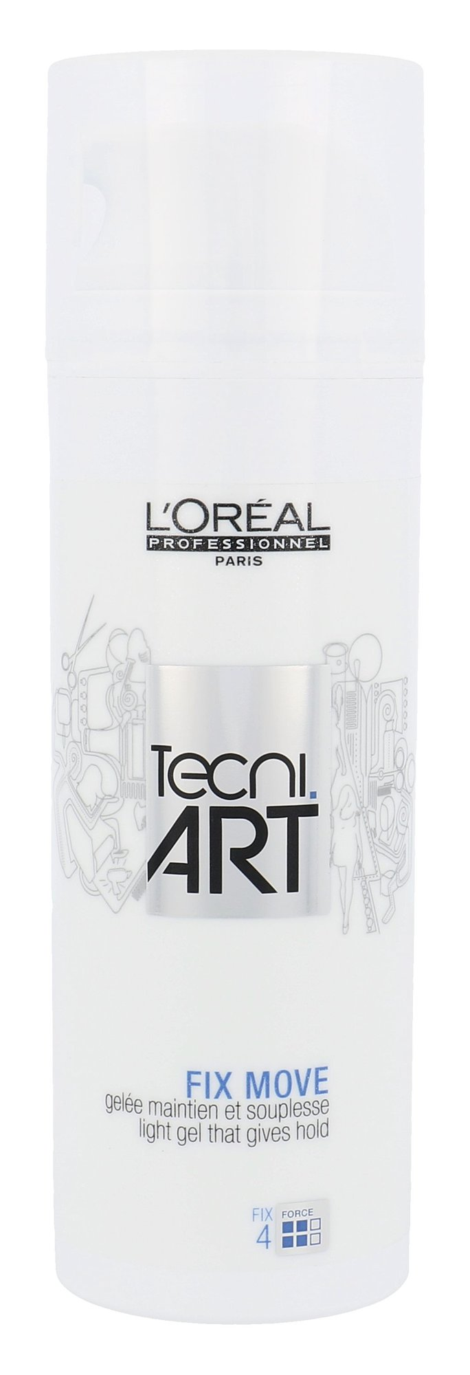 L´Oreal Paris Tecni Art Fix Move Gel Cosmetic 150ml